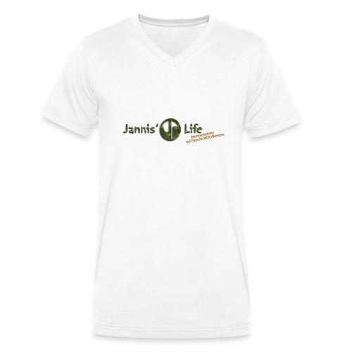 Jannis' Life - Männer Bio-T-Shirt mit V-Ausschnitt von Stanley & Stella