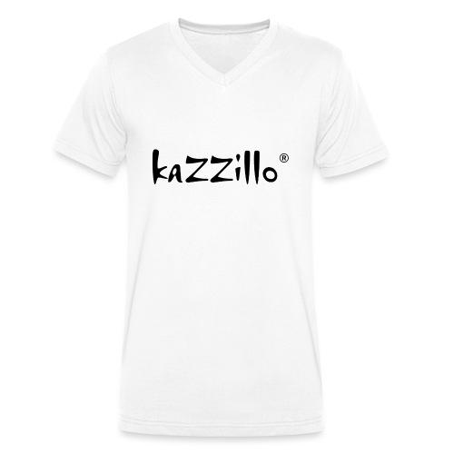 Logo kazzillo - T-shirt ecologica da uomo con scollo a V di Stanley & Stella