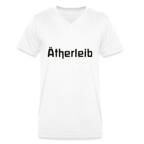 Ätherleib - Männer Bio-T-Shirt mit V-Ausschnitt von Stanley & Stella