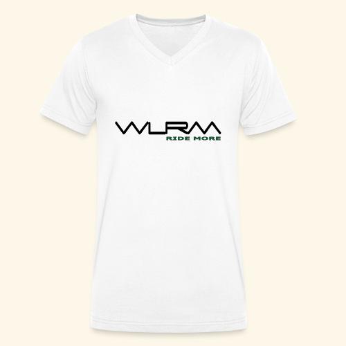 WLRM Schriftzug black png - Männer Bio-T-Shirt mit V-Ausschnitt von Stanley & Stella