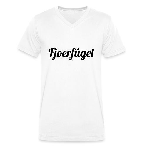 fjoerfugel - Mannen bio T-shirt met V-hals van Stanley & Stella