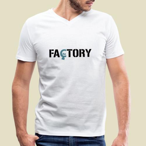 label - Männer Bio-T-Shirt mit V-Ausschnitt von Stanley & Stella