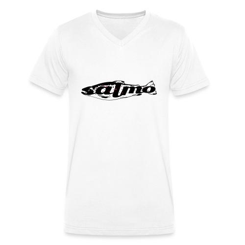 Salmo (salmophil) - Männer Bio-T-Shirt mit V-Ausschnitt von Stanley & Stella