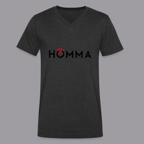 HÖMMA - Männer Bio-T-Shirt mit V-Ausschnitt von Stanley & Stella