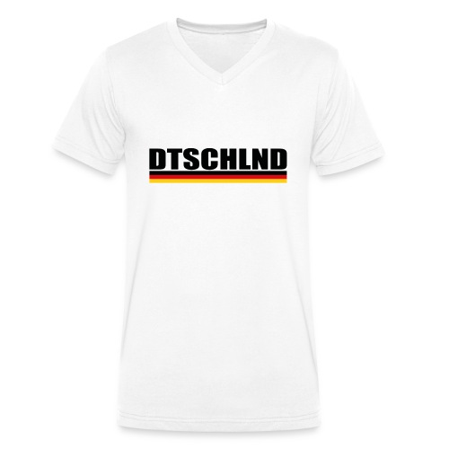 dtschschlnd 2018 - Männer Bio-T-Shirt mit V-Ausschnitt von Stanley & Stella