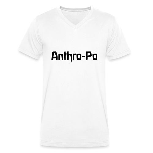 Anthro Po - Männer Bio-T-Shirt mit V-Ausschnitt von Stanley & Stella