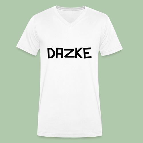 dazke_bunt - Männer Bio-T-Shirt mit V-Ausschnitt von Stanley & Stella