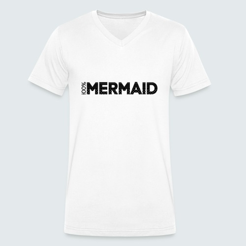 100%Mermaid - Männer Bio-T-Shirt mit V-Ausschnitt von Stanley & Stella