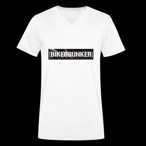 BikerBunker Classic Hoodie - Männer Bio-T-Shirt mit V-Ausschnitt von Stanley & Stella