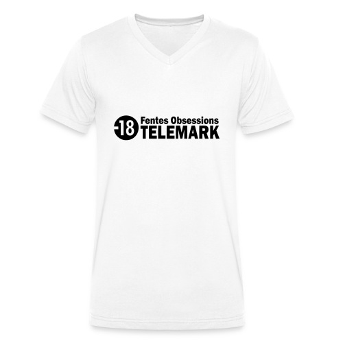 telemark fentes obsessions18 - T-shirt bio col V Stanley & Stella Homme