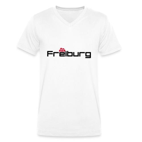 Freiburg - Männer Bio-T-Shirt mit V-Ausschnitt von Stanley & Stella