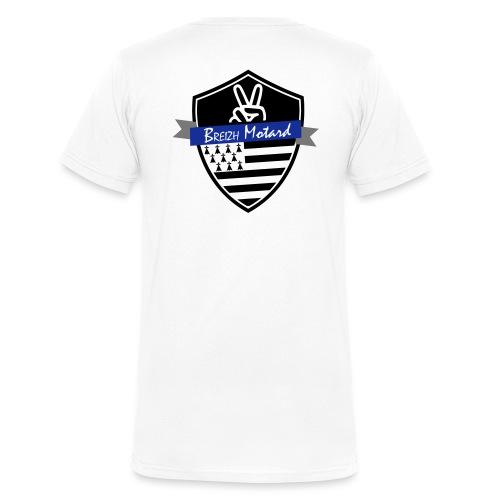 Breizh Motard Vestes et gilets - T-shirt bio col V Stanley & Stella Homme