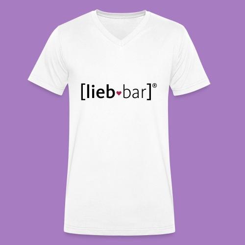Frauen liebbar Hoodie - Männer Bio-T-Shirt mit V-Ausschnitt von Stanley & Stella
