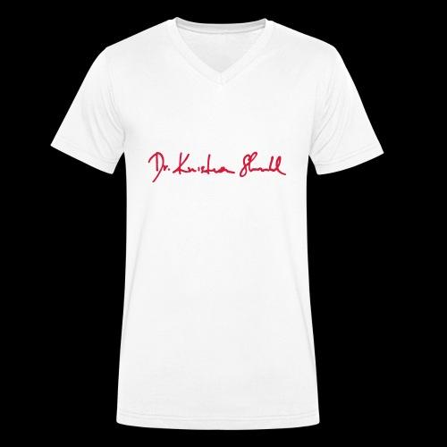 stuhl signatur - Männer Bio-T-Shirt mit V-Ausschnitt von Stanley & Stella