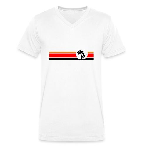 Palme II - Männer Bio-T-Shirt mit V-Ausschnitt von Stanley & Stella