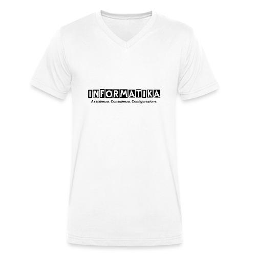 Maglietta Premium da donna informatik@ - T-shirt ecologica da uomo con scollo a V di Stanley & Stella