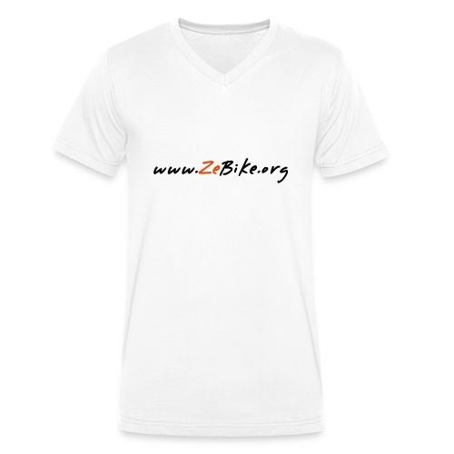 wwwzebikeorg s - T-shirt bio col V Stanley & Stella Homme