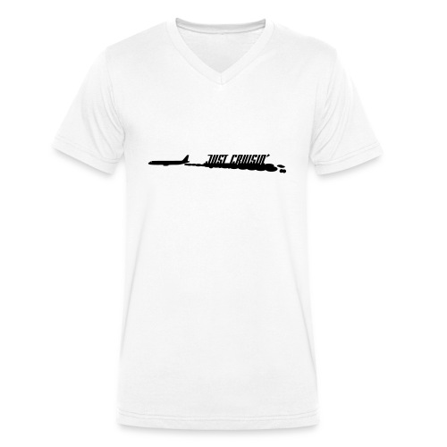 Cruisin' - Men's Organic V-Neck T-Shirt by Stanley & Stella