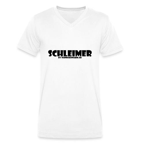 Schleimer - Männer Bio-T-Shirt mit V-Ausschnitt von Stanley & Stella