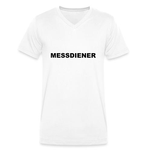 messdiener - Männer Bio-T-Shirt mit V-Ausschnitt von Stanley & Stella