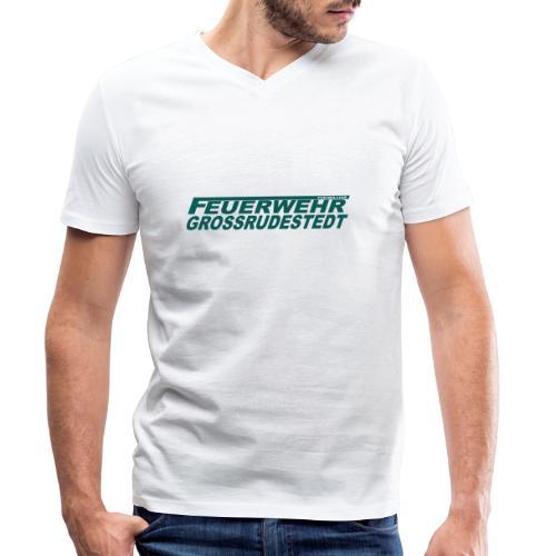 Schriftzug_FFG_gross - Männer Bio-T-Shirt mit V-Ausschnitt von Stanley & Stella