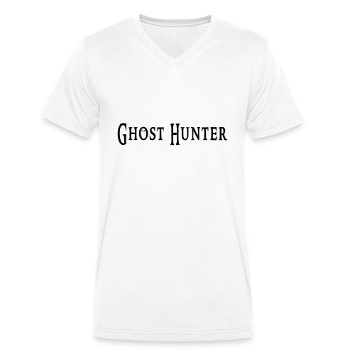 Ghost Hunter - Männer Bio-T-Shirt mit V-Ausschnitt von Stanley & Stella