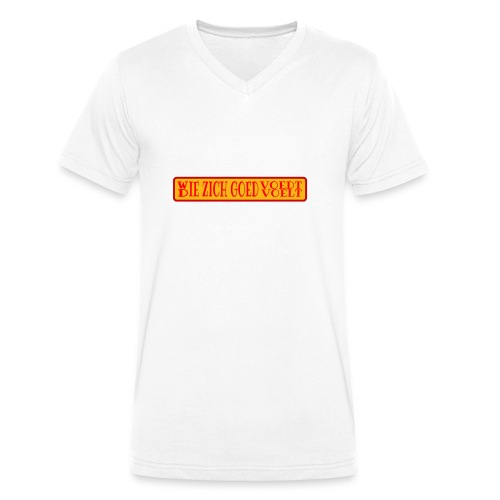 wie en die png - Men's Organic V-Neck T-Shirt by Stanley & Stella
