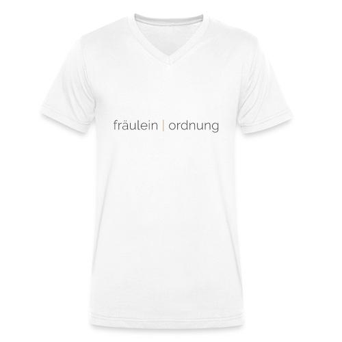 collect moments   not things - Männer Bio-T-Shirt mit V-Ausschnitt von Stanley & Stella