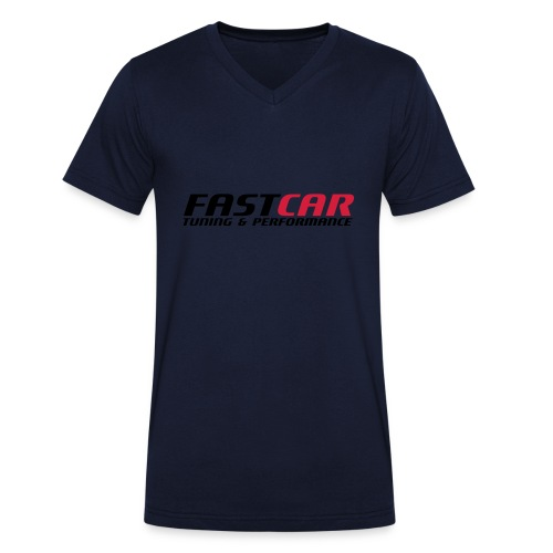 fastcar-eps - Ekologisk T-shirt med V-ringning herr från Stanley & Stella