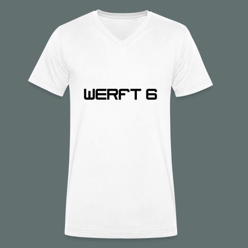 werft6 logo - Männer Bio-T-Shirt mit V-Ausschnitt von Stanley & Stella