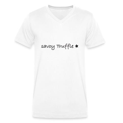 Savoy Truffle Star - Männer Bio-T-Shirt mit V-Ausschnitt von Stanley & Stella