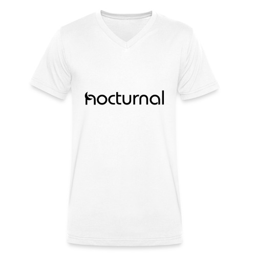Nocturnal Black - Men's Organic V-Neck T-Shirt by Stanley & Stella