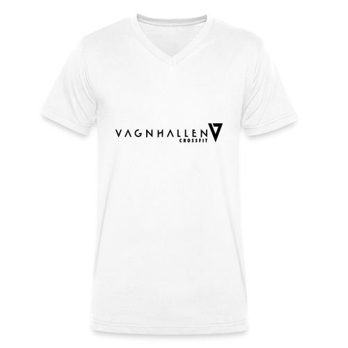 Vagnhallen_logo_ligg - Ekologisk T-shirt med V-ringning herr från Stanley & Stella