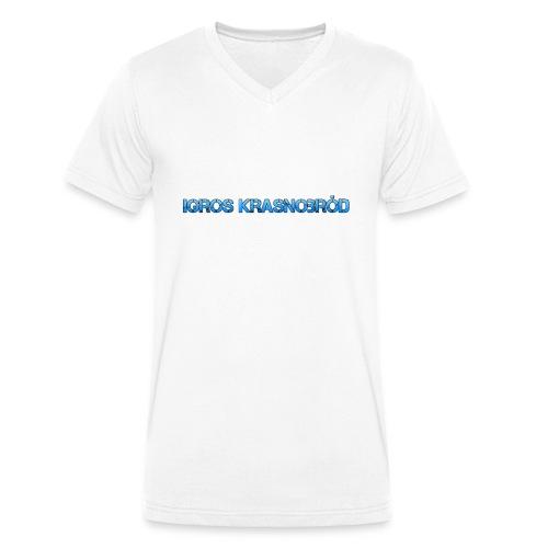 2-png - Ekologiczna koszulka męska z dekoltem w serek Stanley & Stella