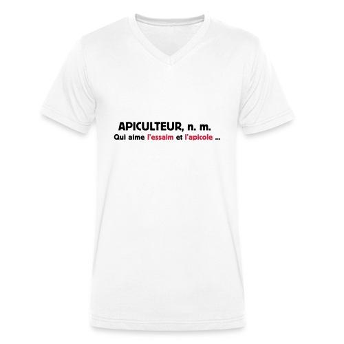 essaim - T-shirt bio col V Stanley & Stella Homme
