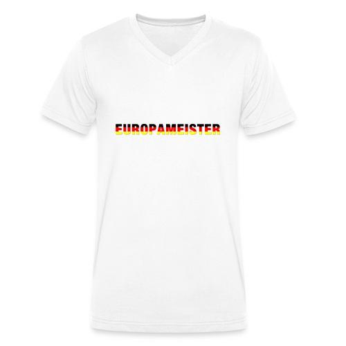 Europameister - Männer Bio-T-Shirt mit V-Ausschnitt von Stanley & Stella