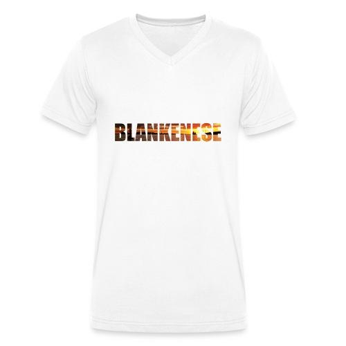 Blankenese Hamburg - Männer Bio-T-Shirt mit V-Ausschnitt von Stanley & Stella