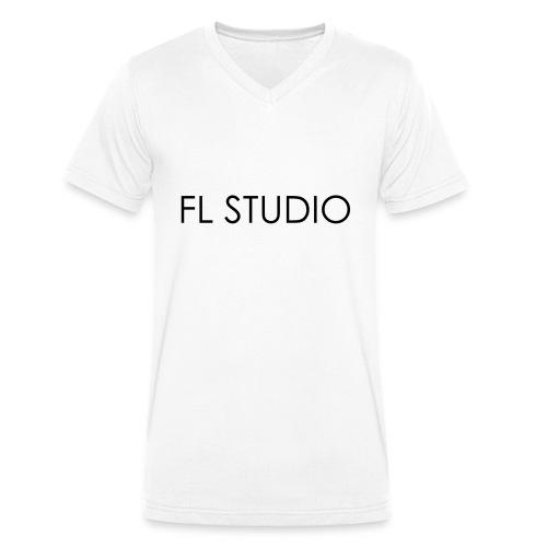 FL Studio Name 1 ColorEPS - Men's Organic V-Neck T-Shirt by Stanley & Stella