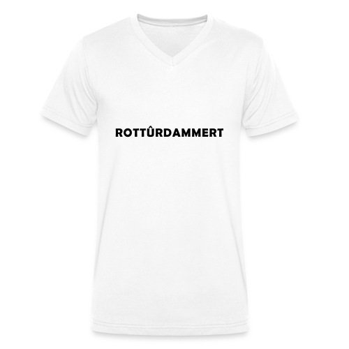 Rotturdammert - Mannen bio T-shirt met V-hals van Stanley & Stella