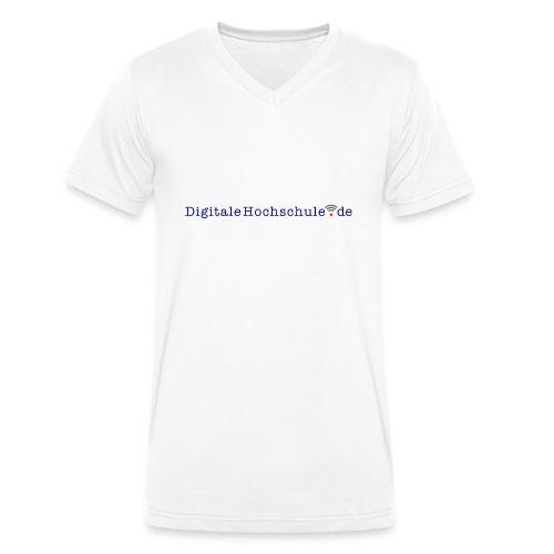 digitalehochschule.de - Männer Bio-T-Shirt mit V-Ausschnitt von Stanley & Stella