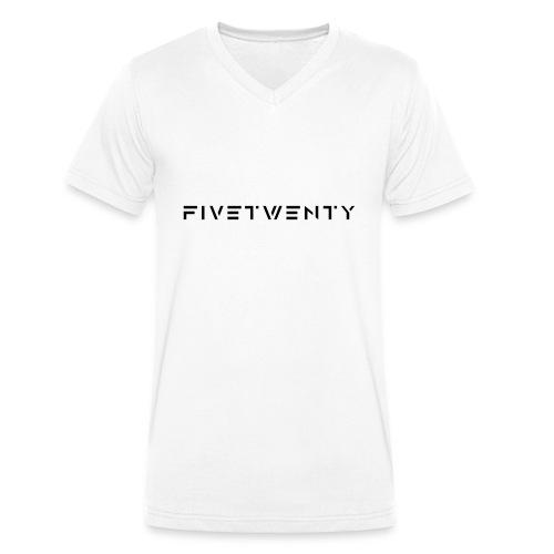 fivetwenty logo test - Ekologisk T-shirt med V-ringning herr från Stanley & Stella