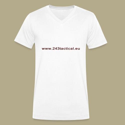 .243 Tactical Website - Mannen bio T-shirt met V-hals van Stanley & Stella