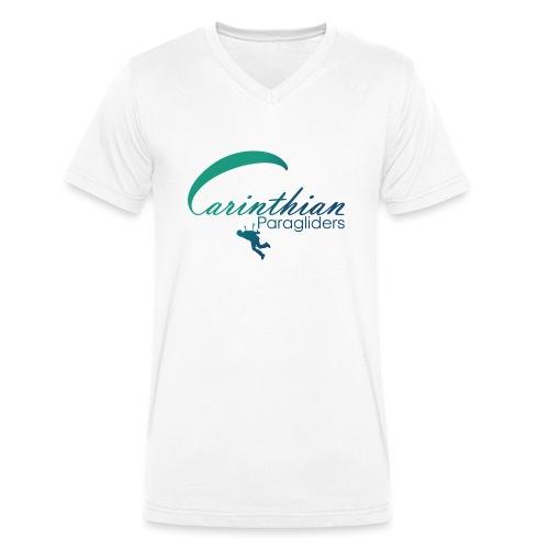 Carinthian Paragliders Logo 2019 - Männer Bio-T-Shirt mit V-Ausschnitt von Stanley & Stella