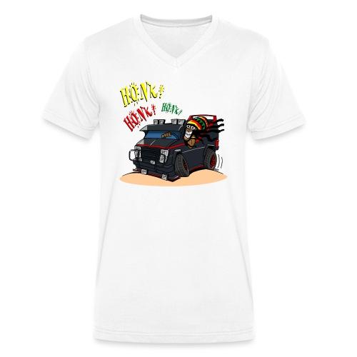 0779 BA RASTA VAN - Mannen bio T-shirt met V-hals van Stanley & Stella