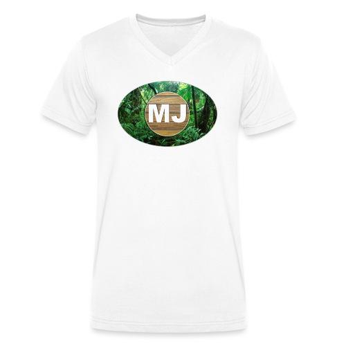 MrJuls Logo - Männer Bio-T-Shirt mit V-Ausschnitt von Stanley & Stella