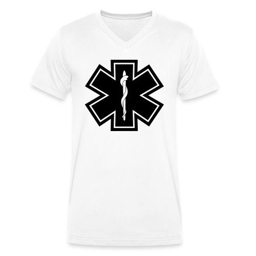 paramedic2 eps - Männer Bio-T-Shirt mit V-Ausschnitt von Stanley & Stella