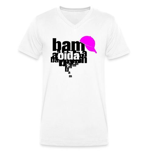 bam oida bam - Männer Bio-T-Shirt mit V-Ausschnitt von Stanley & Stella