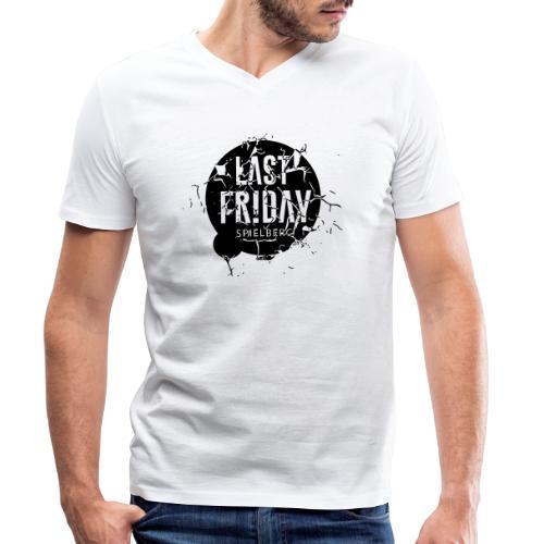 Last Friday Grunge - Männer Bio-T-Shirt mit V-Ausschnitt von Stanley & Stella