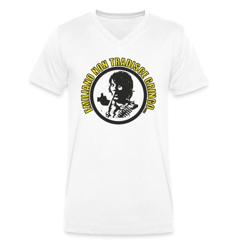 Emiliano.png - T-shirt ecologica da uomo con scollo a V di Stanley & Stella