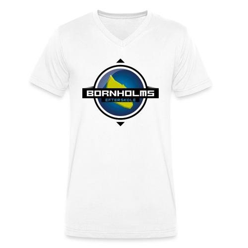 BORNHOLMS_EFTERSKOLE - Økologisk Stanley & Stella T-shirt med V-udskæring til herrer